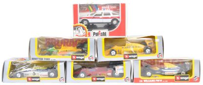 COLLECTION OF BBURAGO AND POLISTIL DIECAST MODELS