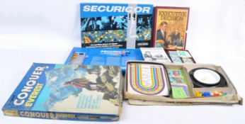 COLLECTION OF BOXED VINTAGE BOARD GAMES