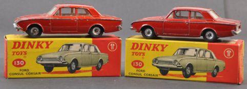 ORIGINAL VINTAGE DINKY TOYS BOXED DIECAST MODELS