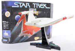 PLAYMATES STAR TREK ROMULAN BIRD OF PREY BOXED SHIP
