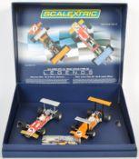 ORIGINAL HORNBY SCALEXTRIC SLOT RACING CAR BOX SET