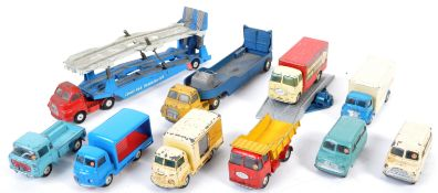 COLLECTION OF ORIGINAL VINTAGE CORGI DIECAST MODELS
