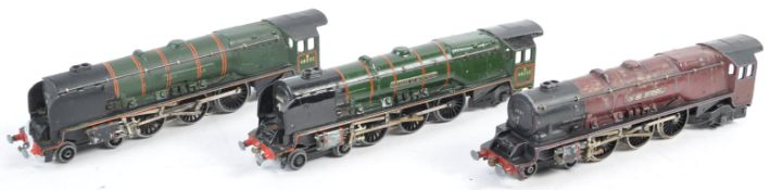 COLLECTION OF THREE VINTAGE HORNBY DUBLO ENGINES