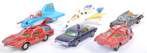 COLLECTION OF VINTAGE CORGI & DINKY TOYS DIECAST MODEL CARS