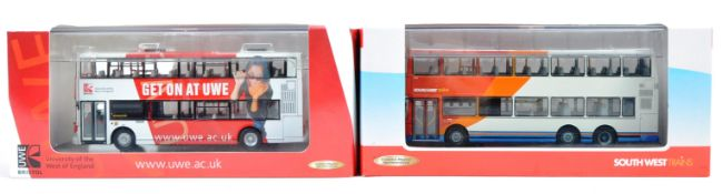 TWO CREATIVE MASTER CMNL 1/76 SCALE DIECAS BUS MODELS