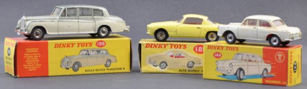 COLLECTION OF VINTAGE DINKY TOYS BOXED DIECAST MODELS