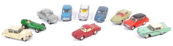 COLLECTION OF ASSORTED VINTAGE CORGI TOYS DIECAST MODELS