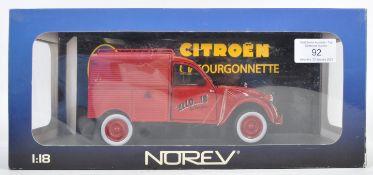 NOREV 1/18 SCALE CITROEN 2CV FOURGONNETTE DIECAST MODEL