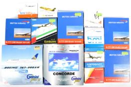 COLLECTION OF ASSORTED AEROPLANE DIECAST MODELS