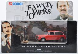 CORGI TOYS 00802 FAWLTY TOWERS DIECAST MODEL SET