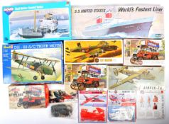 COLLECTION OF ASSORTED AIRFIX AND OTHER SCALE MODEL KITS