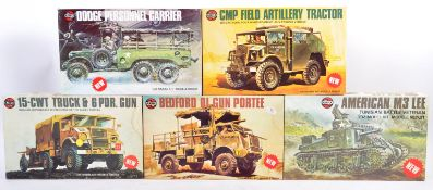 COLLECTION OF AIRFIX 1/35 SCALE MODEL KITS