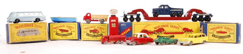 COLLECTION OF MATCHBOX MOKO LESNEY DIECAST MODELS