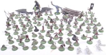 WARHAMMER COLLECTION OF LOTR WARGAMING FIGURES