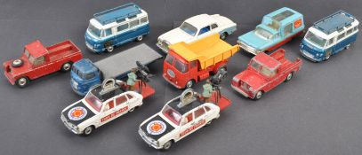 COLLECTION OF ORIGINAL CORGI TOYS DIECAST MODEL VEHICLES