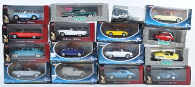 LARGE COLLECTION OF ASSORTED 1/43 SCALE DIECAST MODEL CARS