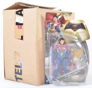 BATMAN V SUPERMAN SUPERMAN ACTION FIGURE MATTEL TRADE BOX