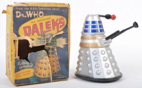 MARX TOYS BBC DOCTOR WHO BOXED DALEK BATTERY OPERATED TOY