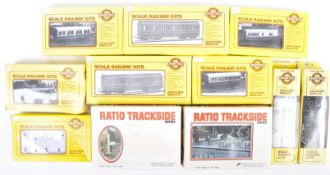 COLLECTION OF RATIO 00 GAUGE MODEL RAILWAY KITS