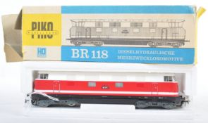 ORIGINAL PIKO H0 BR118 BOXED DIESEL LOCO