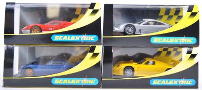 COLLECTION OF HORNBY SCALEXTRIC SLOT RACING CARS