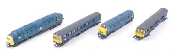 THREE ORIGINAL VINTAGE LIMA 00 GAUGE DIESEL LOCOMOTIVES