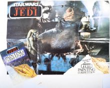 STAR WARS - RARE PALITOY PAINTING COMPETITION POSTER