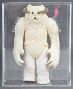 ORIGINAL VINTAGE GRADED STAR WARS HOTH WAMPA ACTION FIGURE