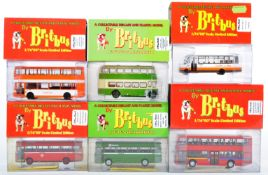 COLLECTION OF BRITBUS DIECAST MODEL BUSES