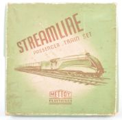 METTOY O GAUGE CLOCKWORK STREAMLINE TRAINSET