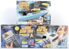 PLAYMATES STAR TREK REPLICA PROP PLAYSET ACCESSORIES
