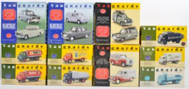 COLLECTION OF LLEDO VANGUARDS DIECAST MODELS