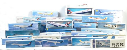 LARGE COLLECTION OF ASSORTED MODEL AIRCRAFTS