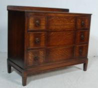 1930'S OAK CHEST OF DRAWERS