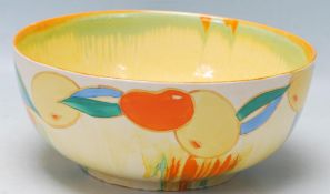 ART DECO 1930S EARLY 20TH CENTURY CLARICE CLIFF FRUIT BOWL