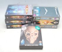COLLECTION OF DOCTOR WHO SERIES 1-6 + SPECIALS DVD
