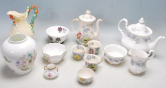 LARGE QUANTITY OF 20TH CENTURY MIXED CERAMIC TABLE WARE