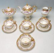 ANTIQUE EARLY 20TH CENTURY NORITAKE PEDESTAL TEA SERVICE