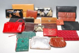 COLLECTION OF LADIES PURSES AND CLUTCH BAGS