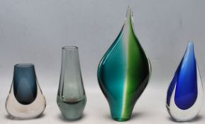 COLLECTION OF RETRO VINTAGE STUDIO ART GLASS