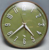 RETRO VINTAGE LATE 20TH CENTURY METAMEC WALL CLOCK