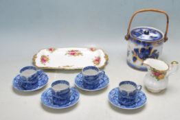 COLLECTION OF 20TH CENTURY CERAMIC TABLE WARE