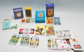 COLLECTION OF VINTAGE TAROT CARDS
