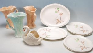 COLLECTION OF 1920'S AND LATER CERAMIC WARE TO INCLUDE ARTHUR WOOD, DARTMOUTH AND ROYAL TUDOR