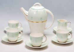 EARLY 20TH CENTURY ART DECO TAMSWARE TEA SERVICE