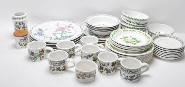 LARGE QUANTITY OF VINTAGE PORTMERION 20TH CENTURY CERAMIC TABLE WARE