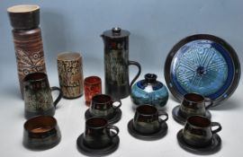 COLLECTION OF RETRO STUDIO ART POTTERY