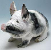 LARGE VINTAGE WEMYSS PIG