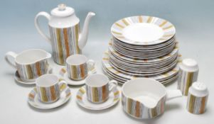 RETRO VINTAGE MIDWINTER SIENNA DINNER SERVICE