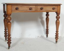 19TH CENTURY VICTORIAN WRITING DESK / HALL TABLE